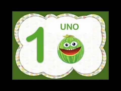 Los Números Del 1 Al 10 Para Niños Con Frutas Video Infantil Youtube Videos Infantiles Canciones Infantiles Aprendizaje De Los Números