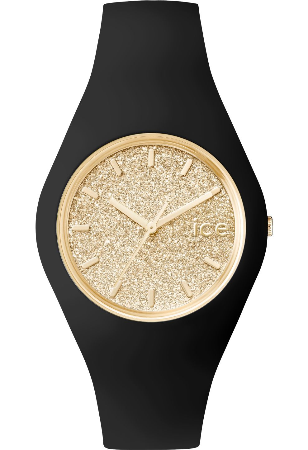 Montre ICE-Glitter - Black Gold - Unisex   Watch obsession   Ice ... 9bea30bc5370