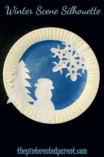 Paper Plate Winter Crafts Winter Crafts For Kids Paper Plate