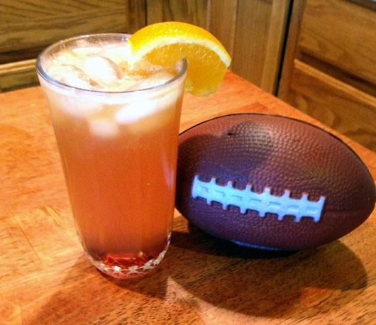 Touch down cocktail  The Thirsty Touchdown Cocktail   touchdown!   Pinterest