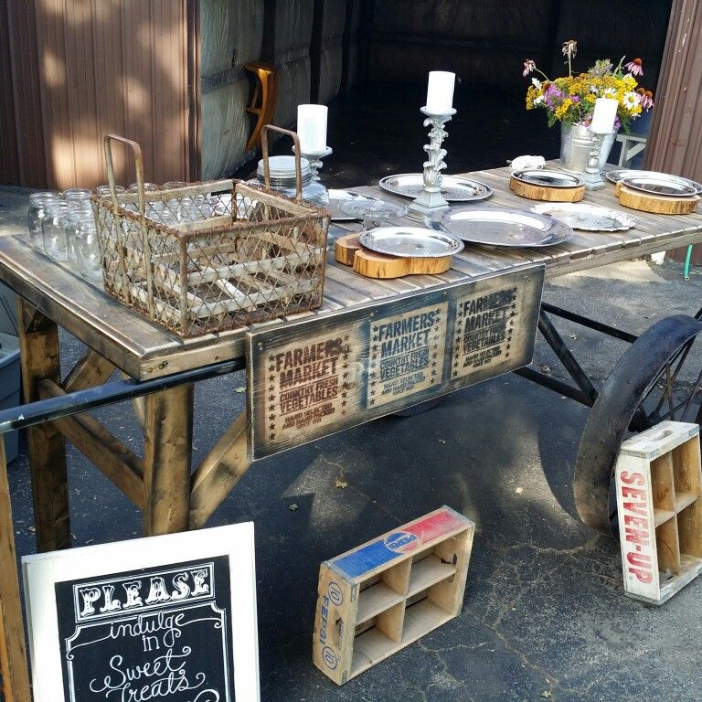 Pie wagon Table, Pallet coffee table, Coffee table