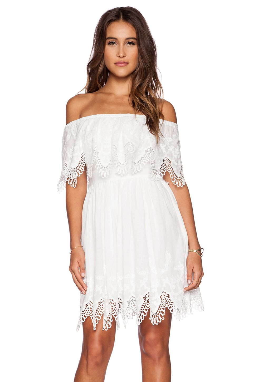 Mulher bonita dress the jetset diaries cotton blend