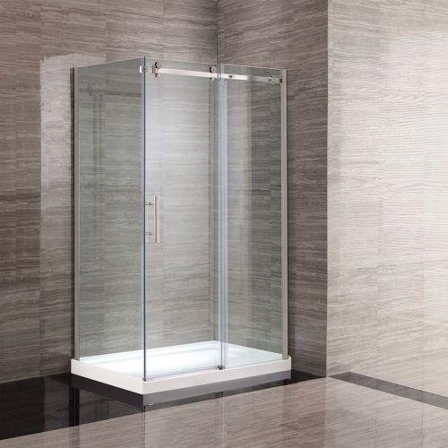 New Waves Kelsey 48 Shower Corner Shower Kits Bathroom Shower