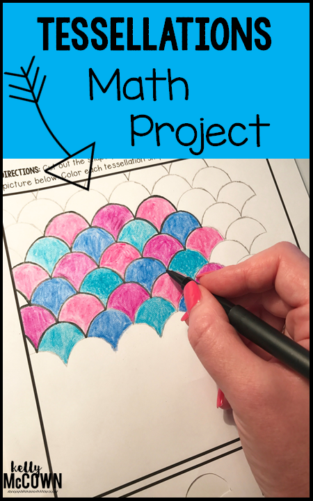 Tessellations Middle School Math Project | Math projects, Math and ...