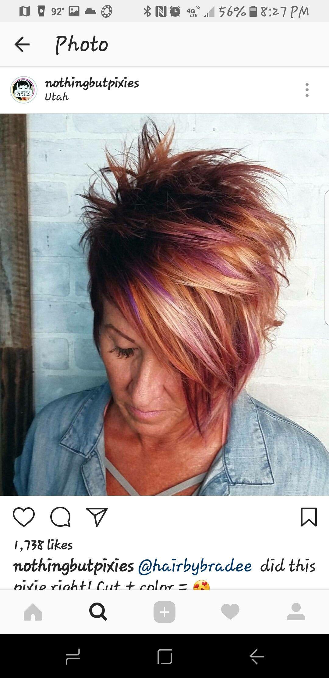 Pin by kellie chismark on hair pinterest hair styles short hair