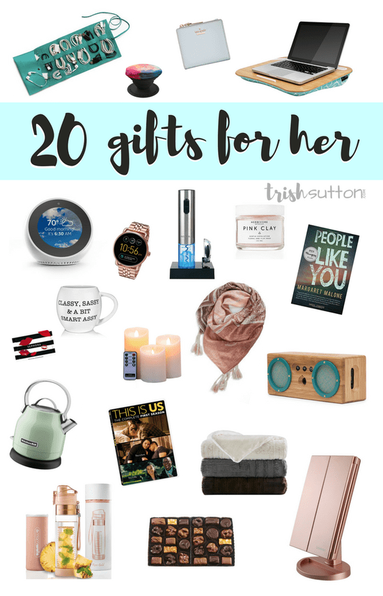 Gift Guide For Her 20 Ideas Las This Ranges From 10 165 And Includes 14 Gifts Under 40