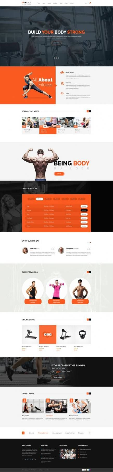 Trendy Fitness Inspiration Over 40 Website Ideas #fitness
