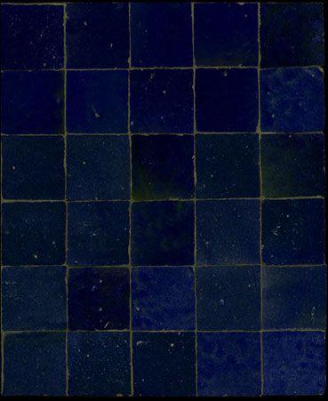 Emery & cie, carrelage, zelliges, bleu sombre | Bleu Klein ...