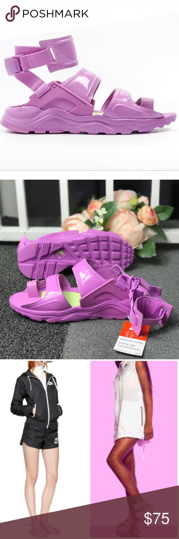 764a17e7d865 NWT Nike Air Huarache Gladiator Fuchsia Glow QS W Brand new with box ...