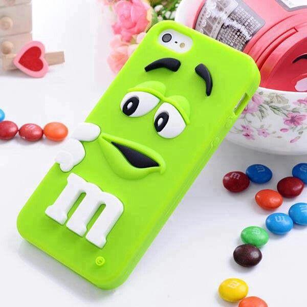 Green mm phone case