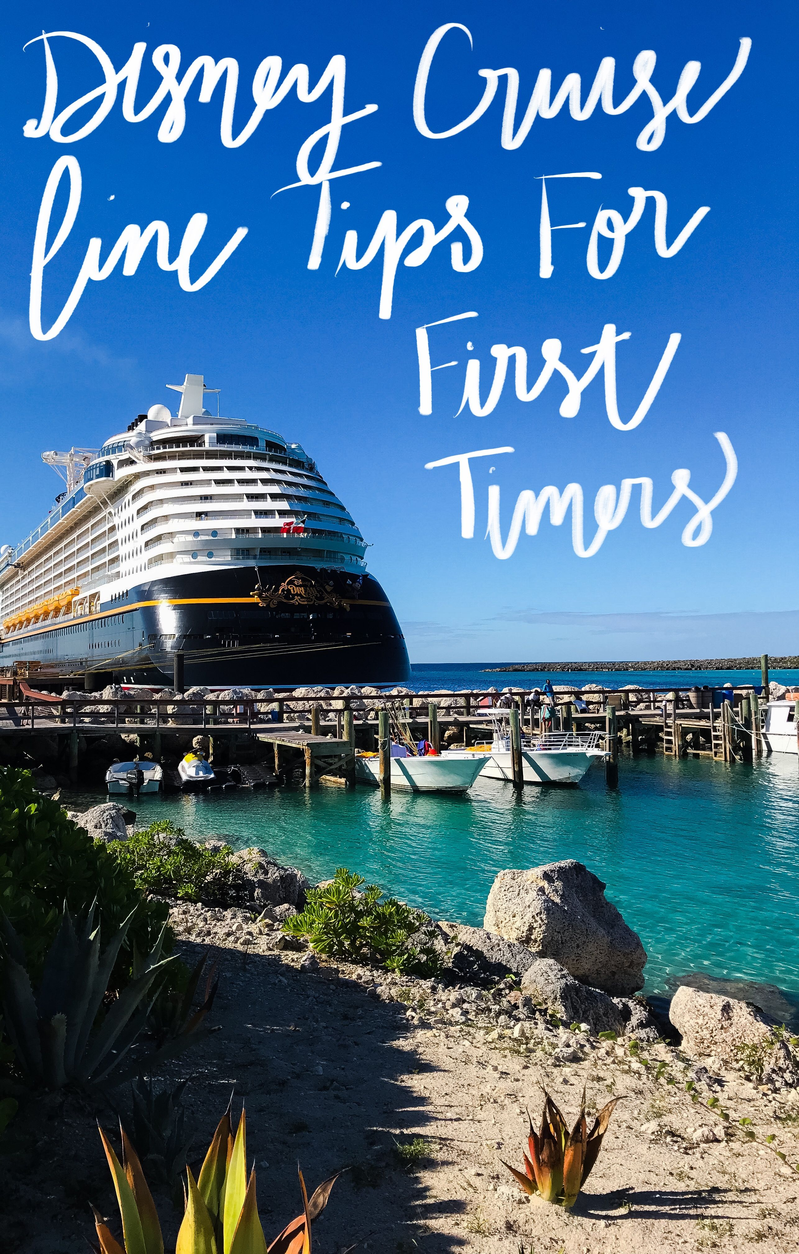 Disney cruise line tips for first timers disney cruise