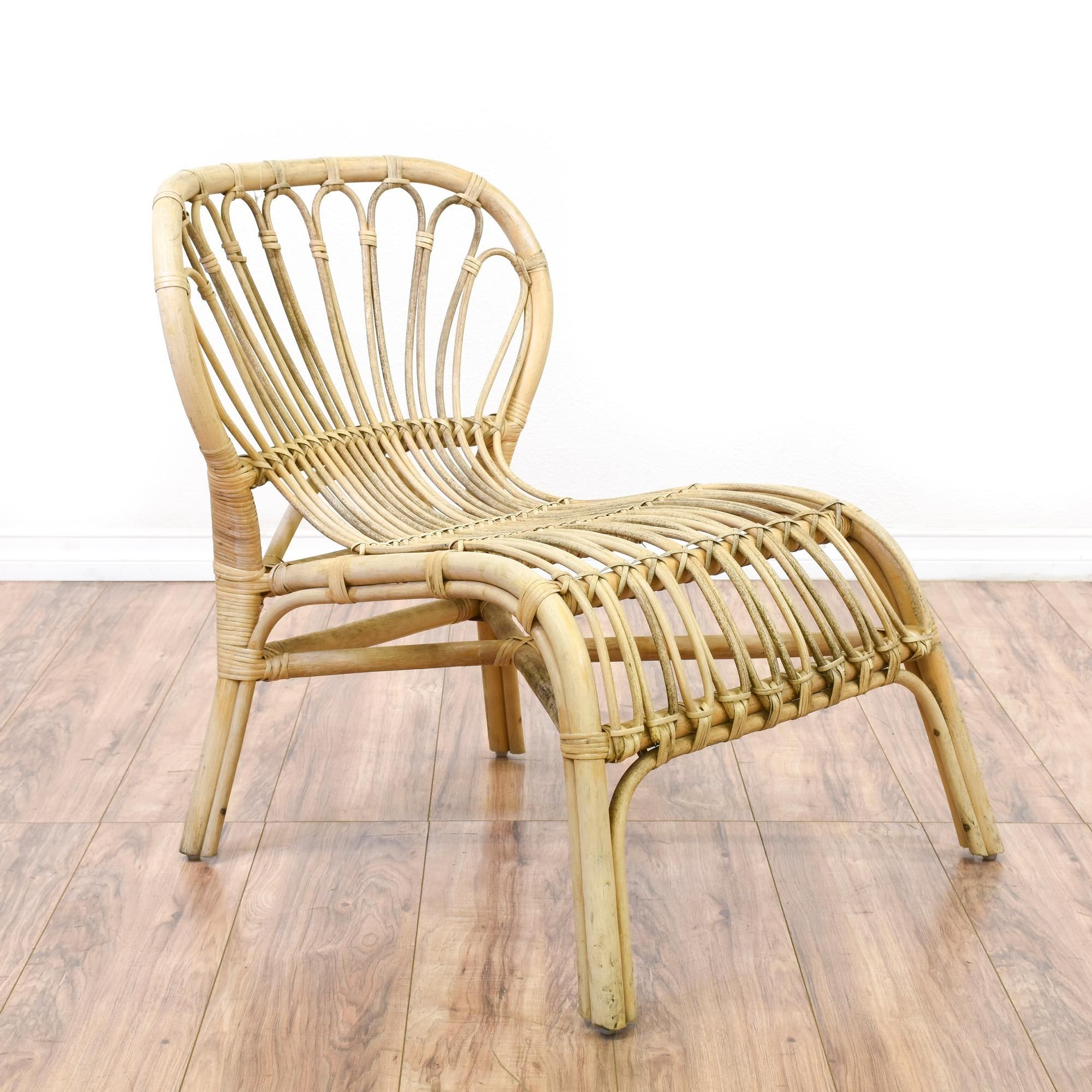 Bohemian Light Rattan Accent Chair