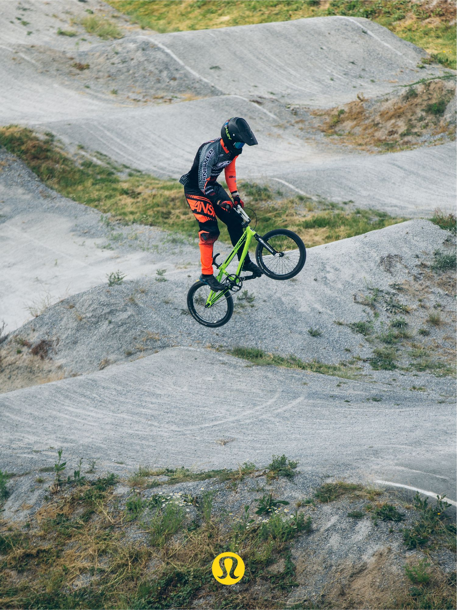 BMX racer and elite ambassador, Tory Nyhaug, finds success between fast laps and relaxing moments.
