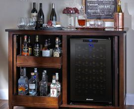 Mini Fridge Stand With Storage Custom Outdoor Bar With Mini