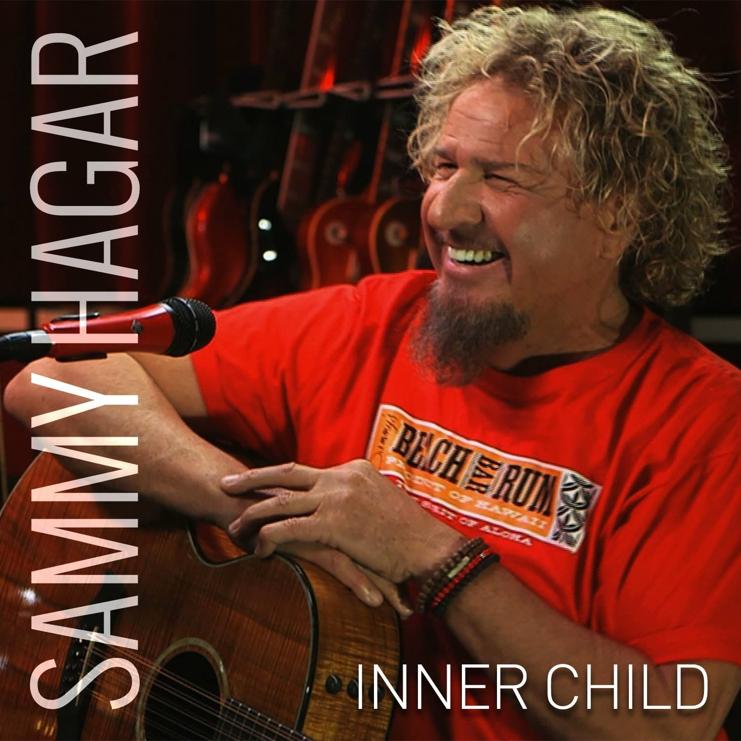 Great Picture Inner Child Red Rocker Rock And Roll
