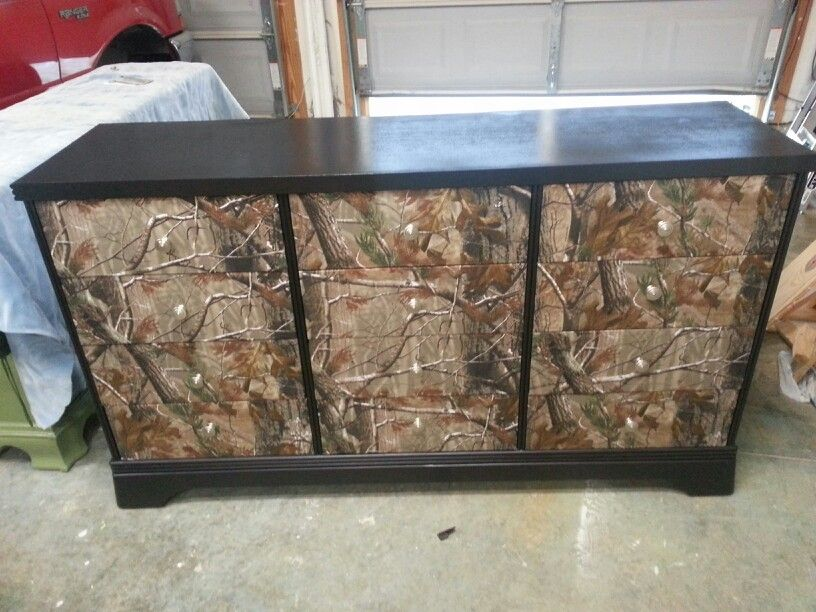 Camo Dresser Need For New Babies Room To Match His Camo