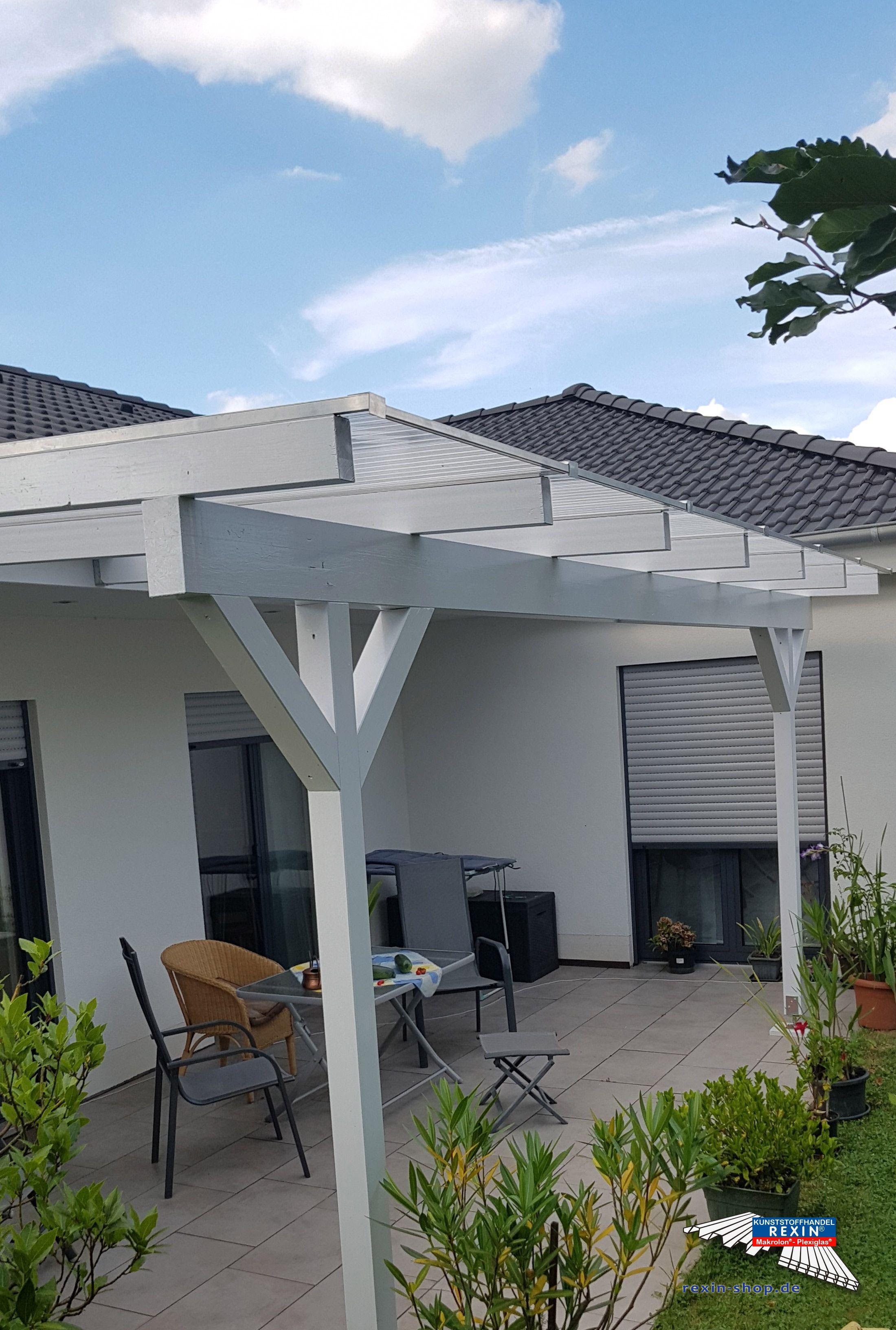Ein Holz Terrassendach Der Marke Rexocomplete 6m X 2 5m Mit