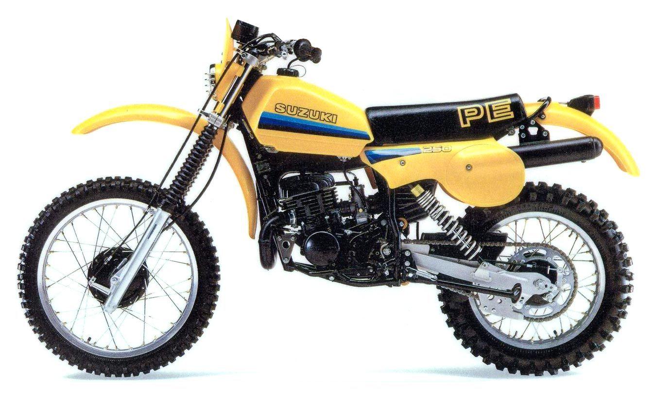 Suzuki Pe250z 1982 Big And Tough Suzuki Dirt Bikes Suzuki