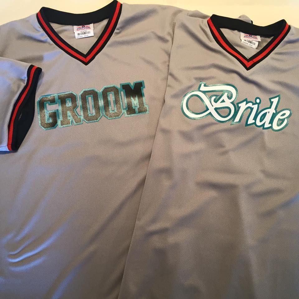 cool florida marlins themed bride u0026 groom wedding baseball