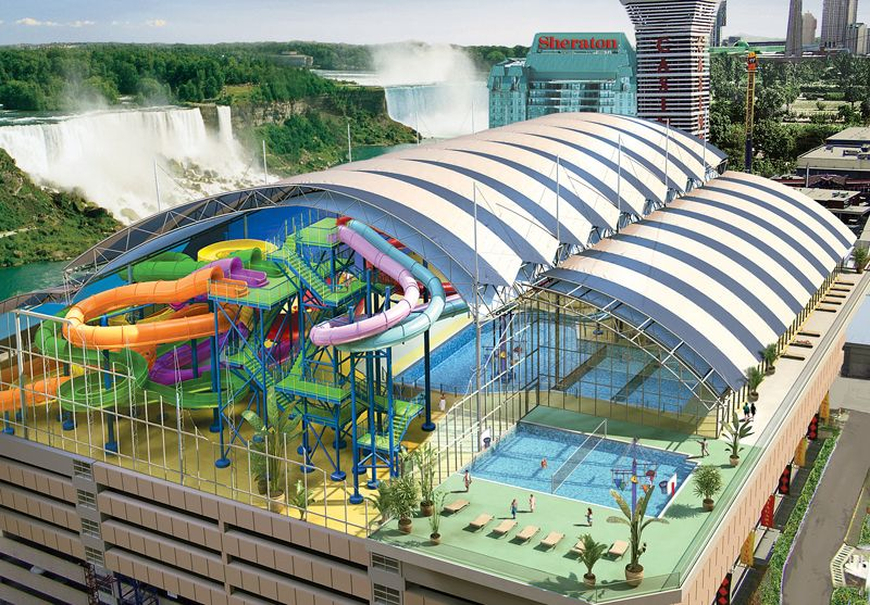 Fallsview Indoor Waterpark Niagara Falls Hotels Indoor