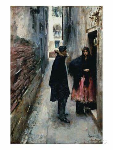 Una calle en Venecia