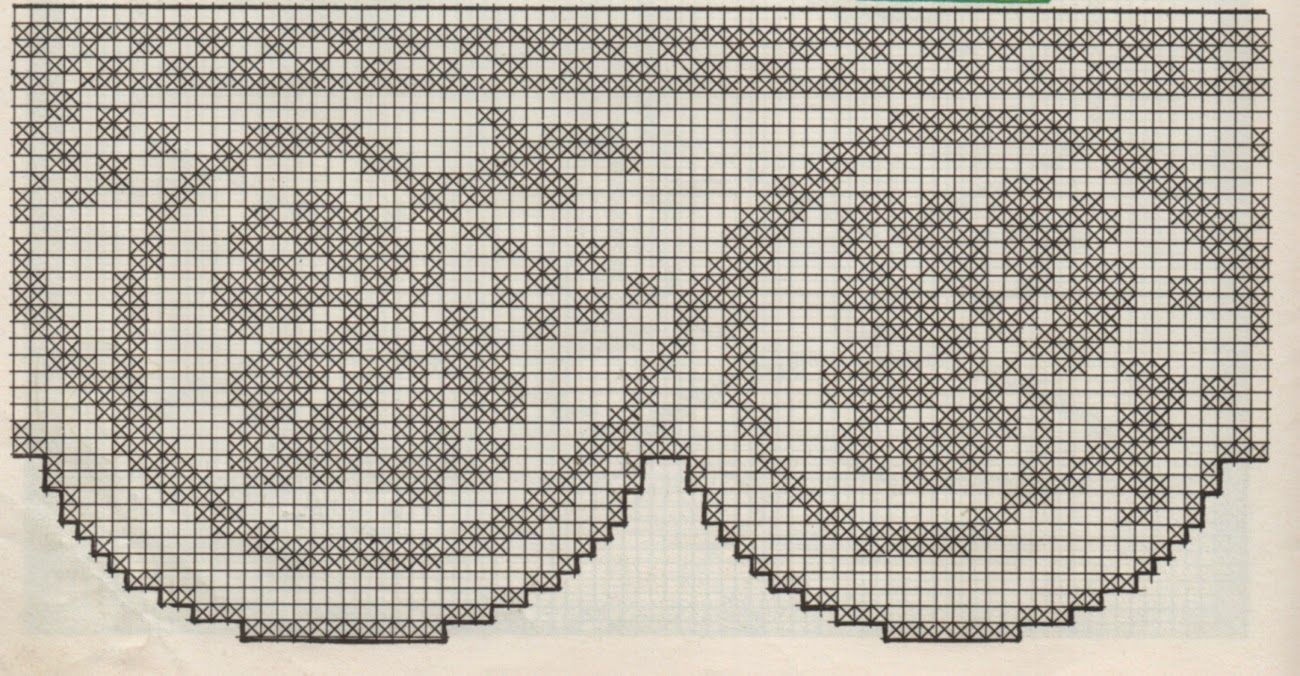 Professione Donna Schemi Per Il Filet Bordure Filet Crochet