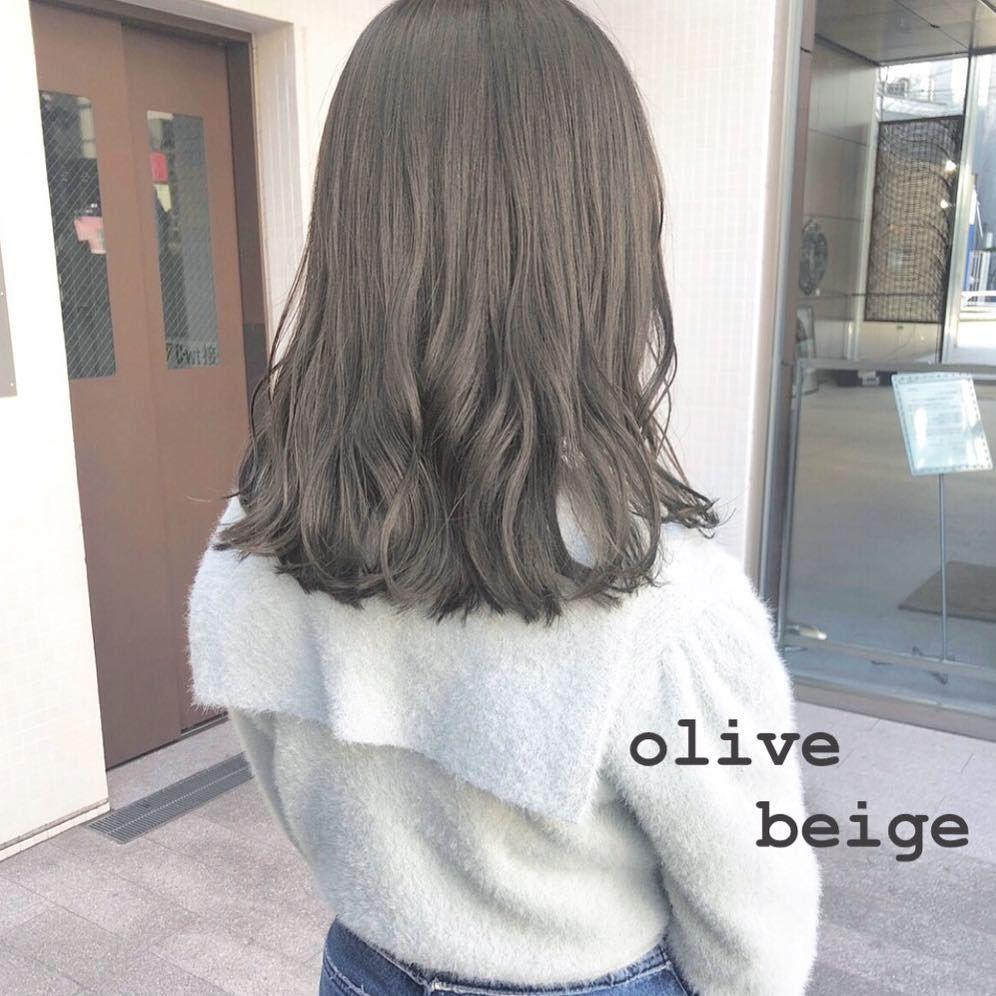 明るめも暗めもcuteな髪色で 2019年夏のトレンドヘアカラーランキングを発表します 髪 色 髪色 グレージュ ヘアカラー