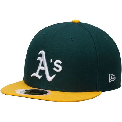 Women s New Era Green Oakland Athletics Authentic Collection On-Field 59FIFTY  Fitted Hat 778e33754496