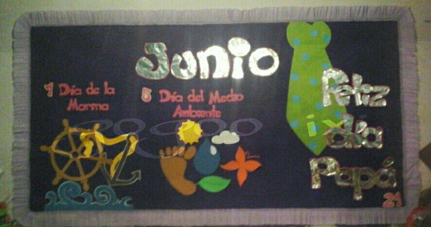 Periodico mural junio mis trabajos pinterest for Diario mural fiestas patrias chile