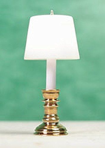 Dollhouse Miniature 1 24 Scale Brass Coach Lamp By Clare Bell