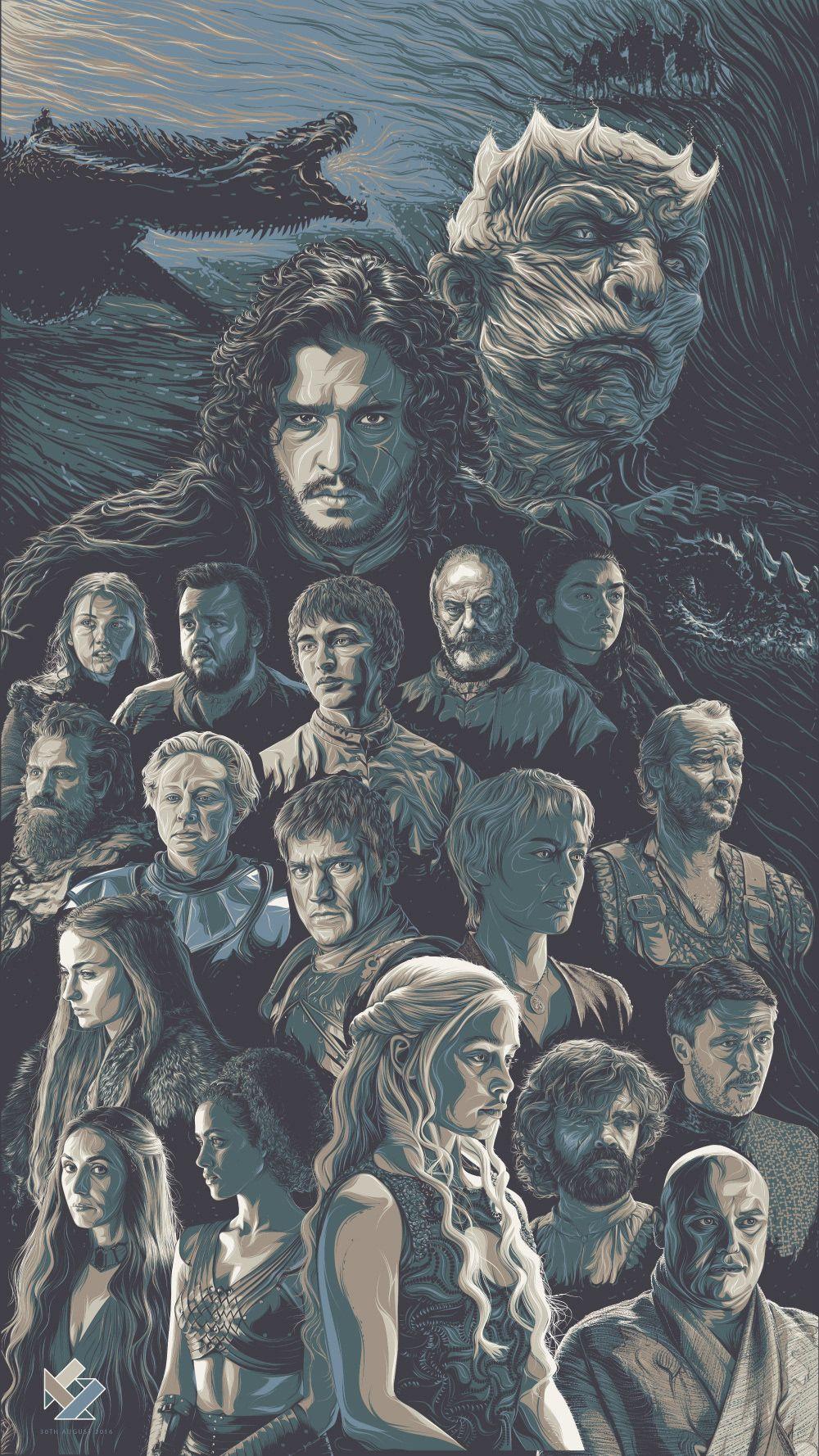 Game of Thrones Art Tribute