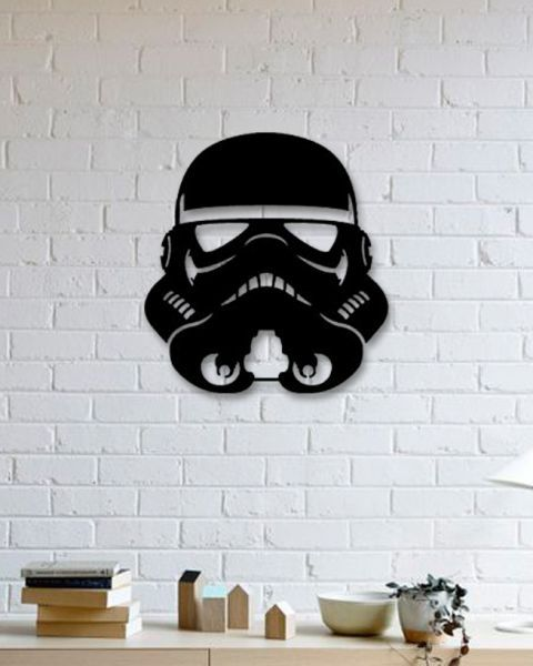 Darth Vader Metal Poster Star Wars Design Eagle Metal Wall Art Metal Posters