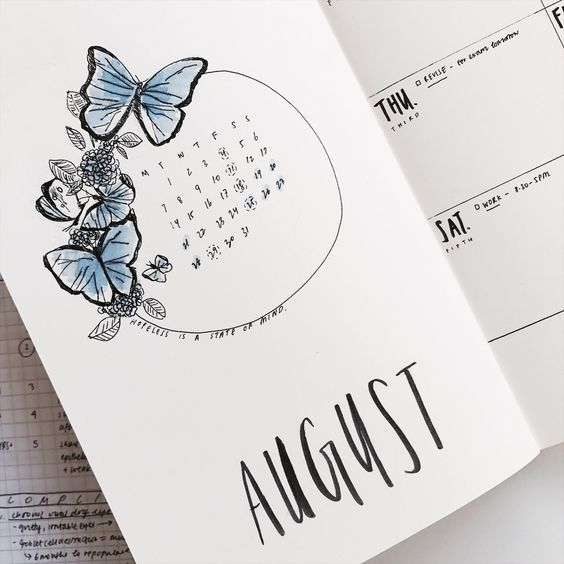 Photo of 19 August Bullet Journal Covers That'll Blow Your Mind