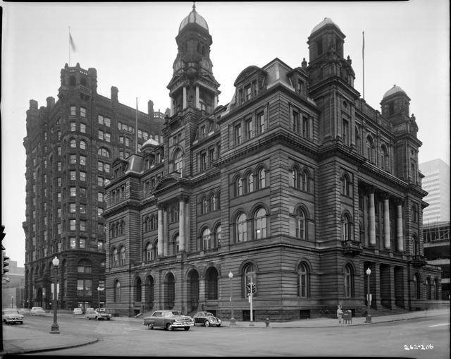 The Post Office And The Metropolitan Life Building On Third Street In Minneapolis 1959 Via Mnhs Minneapolis Photo City