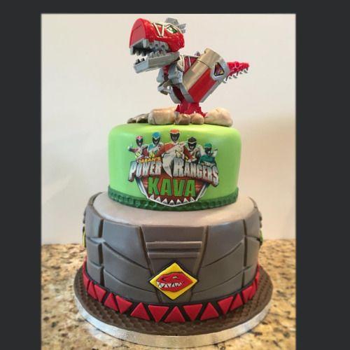 Blue Power Ranger Birthday Cake Photo Sharing