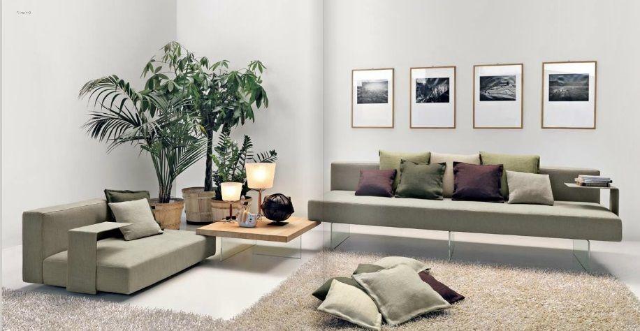 Lago Tavolo ~ Lago divani air modular sofa. stepped example of the sofa with