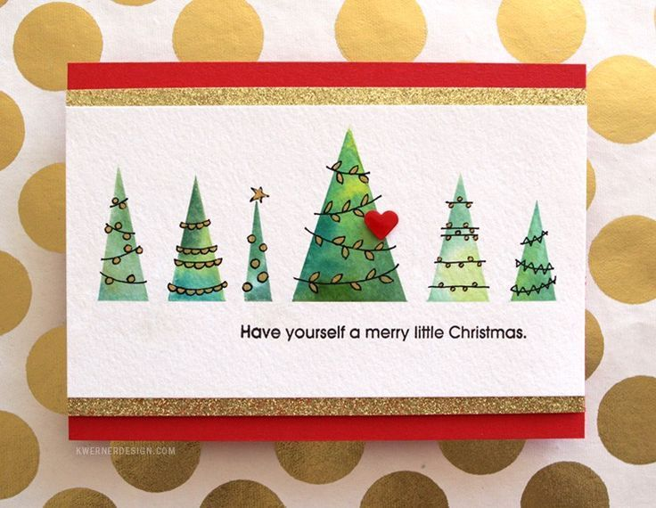 Image Result For Werner Christmas Cards Trees Holiday Pinterest