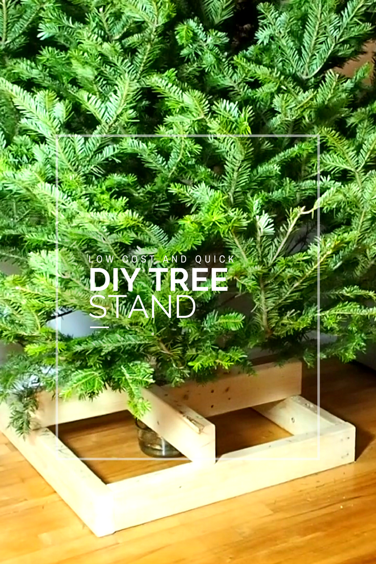 How To Make Your Own Tree Stand Make Your Own Tree Stand For 10 A Simple Woodworking Project