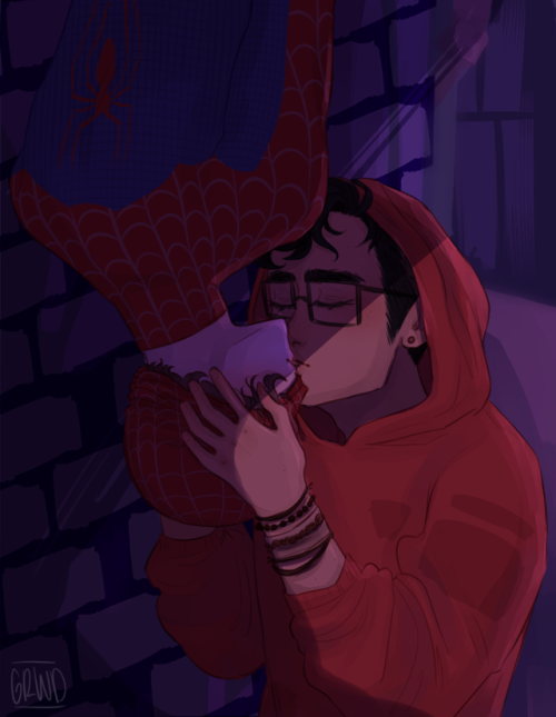 BOYF RIENDS ONE-SHOTS - Spider-man AU | Be More Chill in