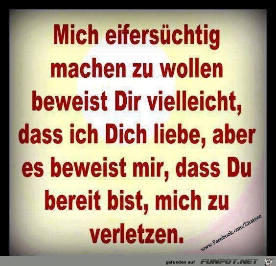 Eifersuechtig machen | joloco | Quotes, True words und Love Quotes