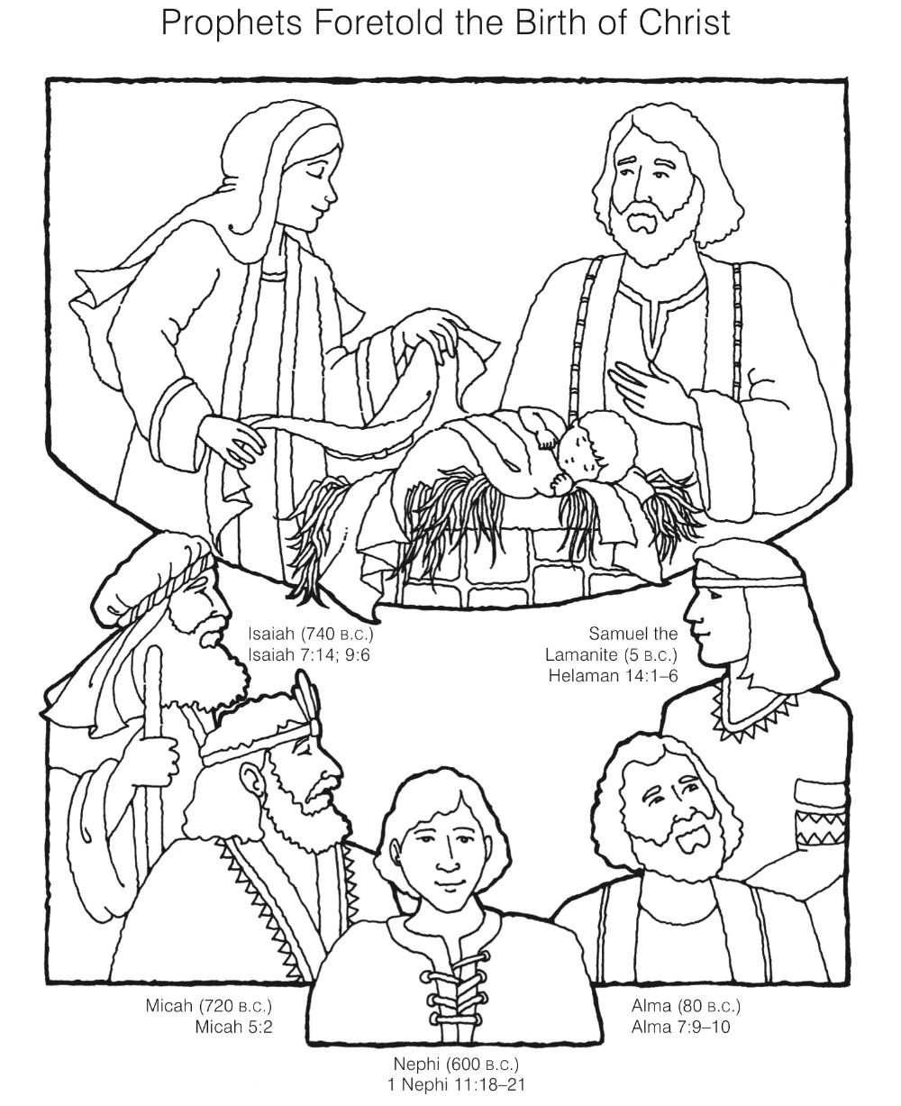 Top Isaiah Told About Jesus Coloring Page Sunday School Coloring Pages Christian Coloring Lds Kids