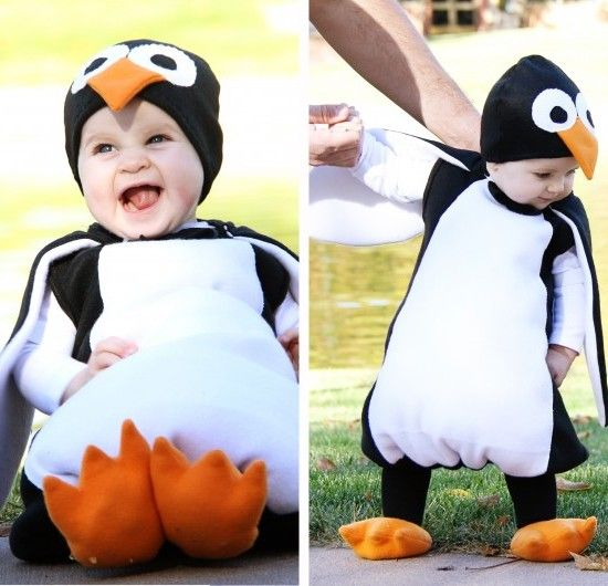 Cute DIY Penguin costume Jamie Dorobek CRAFT Share Your