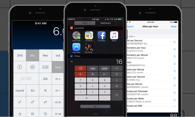 PCalc A super scientific calculator with all the things