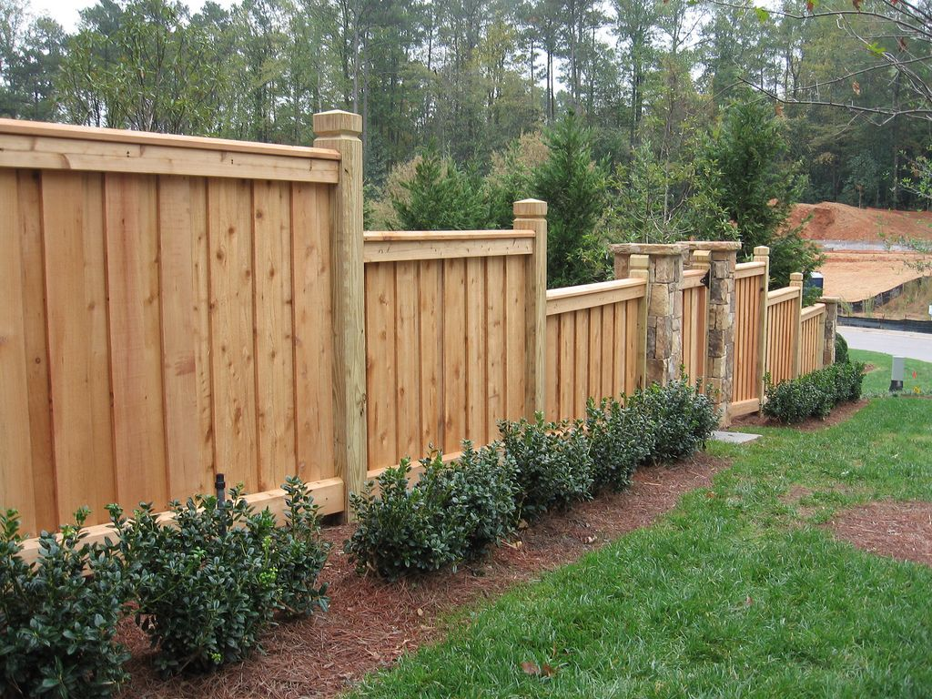 Create a custom wooden fence design to add ascetics to your home fence create a custom wooden fence design baanklon Choice Image