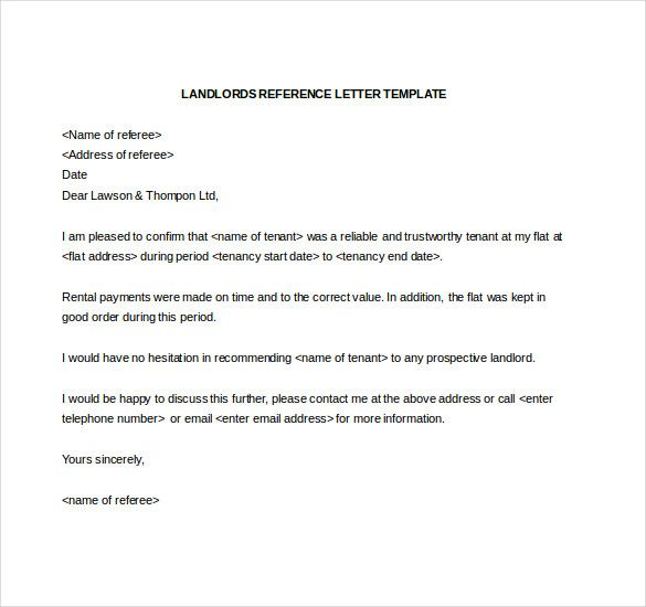 sample chef reference letter template word file download worksheet - landlord reference letter
