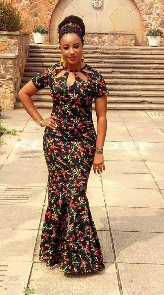 Latest Beautiful Ankara Dress #nigeriandressstyles