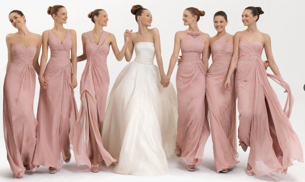 Modelos de vestidos para damas de honor 2015