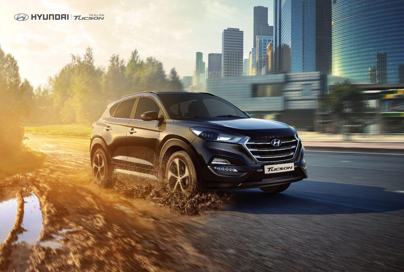 The All New Tucson Hyundai On Behance Publicidad En Autos