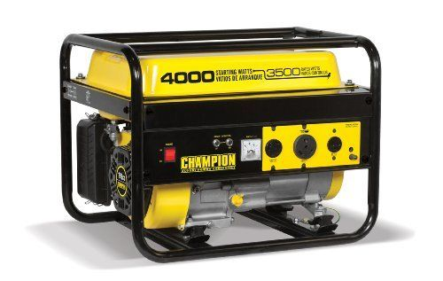 Champion Power Equipment 46596 4000 Watt Portable Generator 896682465967 3500 Watts Rated 400 Best Portable Generator Portable Generator Generators For Sale