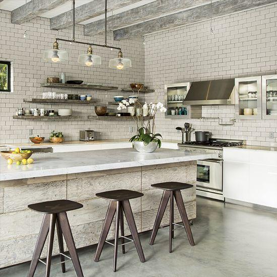 Industrialstyle interiors Industrial style kitchen
